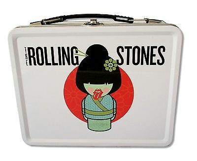 """The Rolling Stones - """"geisha"""" White Lunch Box New"""