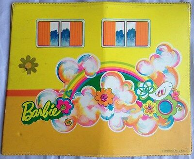 Vintage 1970 Mattel BARBIE COUNTRY CAMPER Replacement Parts - RIGHT PANEL