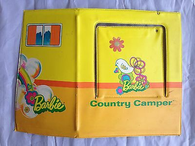 Vintage 1970 Mattel BARBIE COUNTRY CAMPER Replacement Parts - REAR PANEL
