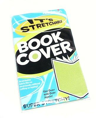 Academic Super Stretchy Stretchable Green Book Cover Factory Sealed Package Mip