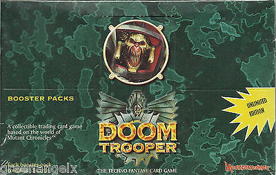 Doomtrooper Ccg - Unlimited Edition Booster Display (English)