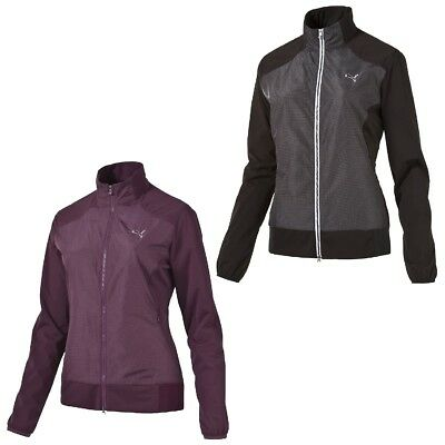Puma W Tech Wind Jacket Damen Golf Jacke zipper Storm Cell