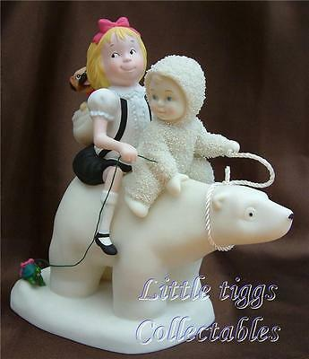 Snowbabies Eloise on the Polar Express. From The Guest Collection. New In Box