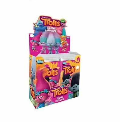 Topps Dreamworks Trolls TRADING CARDS 1, 5 or 10 Pack Of Cards & OR Starter Pack