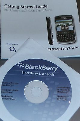 Blackberry Curve 8900 New Original Manual & CD Ex O2