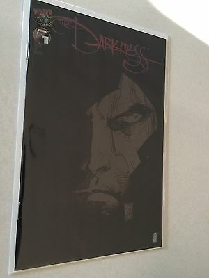 The Darkness #1 black cover variant Marc Silvestri NM 9.4 condition