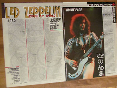 Led Zeppelin, Two Page Clipping