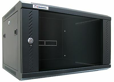 "SPECIAL 15RU Wall Mount Equipment Rack Locking Network IT Data Cabinet 18"" Deep"