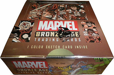 Rittenhouse Archives Marvel Bronze Age 2012 Factory Sealed Trading Card Box