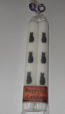 Black Cat Taper Candles 20 cm high, Wiccan, Pagan,spell, Wicca, Gift, Halloween