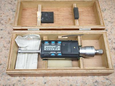 "Mitutoyo 468-232 Digimatic Holtest .35 - .425"" Intrimik Bore MIcrometer"