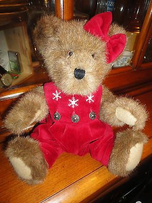 """""""GWEN MARIE"""" THE BOYDS COLLECTION TEDDY BEAR 12 inches"""