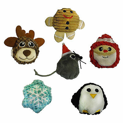 Kong Cat Christmas Xmas Scrattles Catnip Cat Toy Assorted