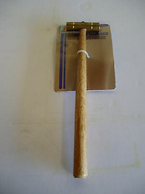 2.8 oz  Hammer with hardwood handle and solid brass head -PH201