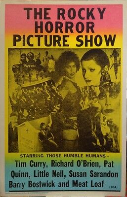 """Rocky Horror Picture Show Poster - Tim Curry Richard O'Brien Pat Quinn - 14""""x22"""""""