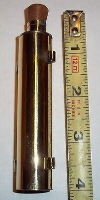 Oil Bottle Brass 18th century Reproduction Handcrafted