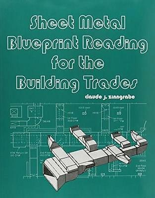Sheet Metal Blueprint Reading for the Building Trades, by Zinngrabe, 2nd Edition