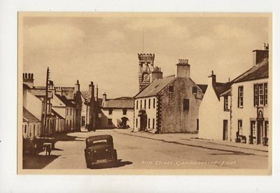 Ann Street Gatehouse Of Fleet Postcard 363b