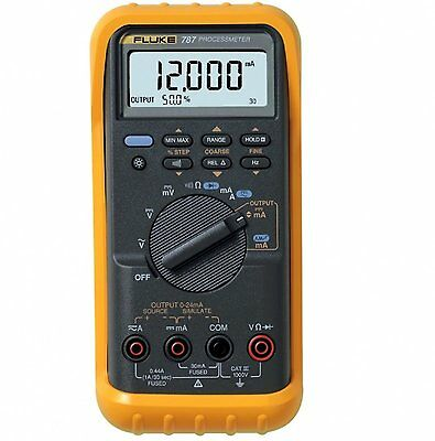 Fluke 787 Processmeter Process Meter Loop Calibrator W Ma Source Dmm New
