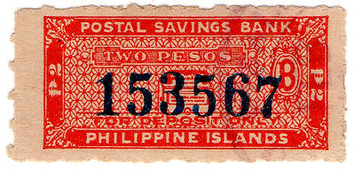 (I.B) Philippines Revenue : Postal Savings Bank 2p