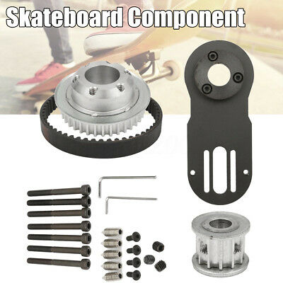 DIY Parts Pulleys And Motor Mount For 83/90/97MM Wheels Electric Skateboard Kit