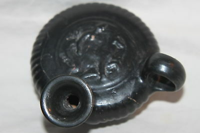 ANCIENT GREEK POTTERY GUTTUS OIL LAMP FILLER 4th c. BC