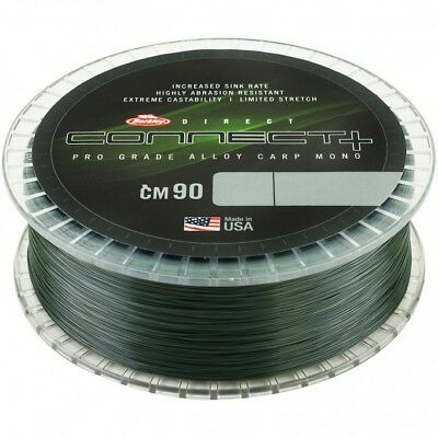 Berkley Connect + CM90 Weed Green Mono Line Mainline 1200m NEW *All Types*