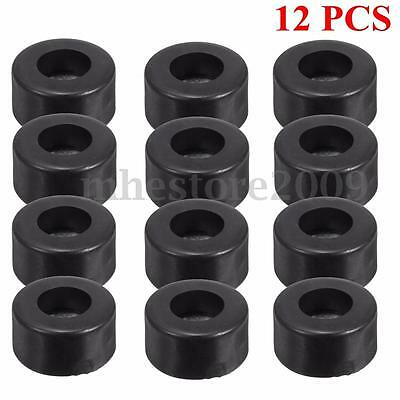 12Pcs 38mm x 19mm Hifi Speaker Cabinets Rubber Feet Bumpers Damper Pad Base Case