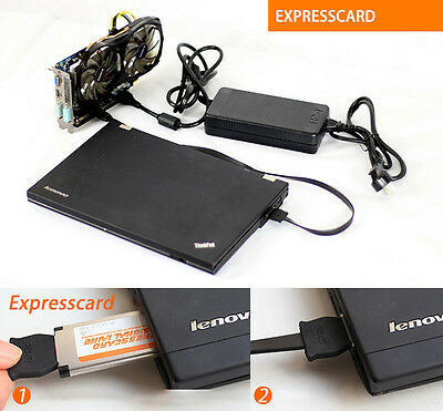 Gaming Expresscard Versio V8.0 EXP GDC Beast Laptop Independent Video Card Dock