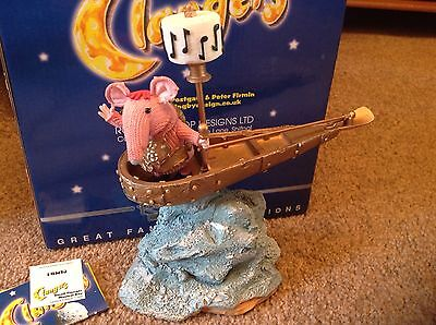 The Clangers Ltd Edition Musical Boat By Robert Harrop St