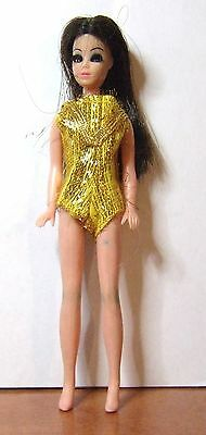 Topper Angie Doll Wearing Gold Jumpsuit Mold P10 Lot 20-10
