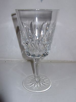 Vintage Waterford Lismore Pattern Cut Crystal Wine Glass