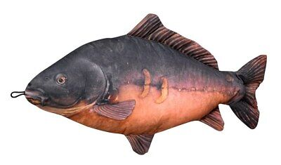 Carp Cushion Fish Pillow Cuddly Toy 1M Long Similar to those on The Apprentice