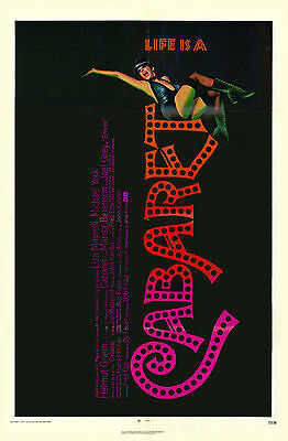 """CABARET- 11""""x17"""" Reproduction Broadway POSTER"""