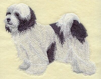 Large Embroidered Zippered Tote - Tibetan Terrier C9655