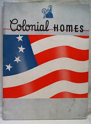 L.F. GARLINGHOUSE COMPANY COLONIAL HOMES ADVERTISING HOUSE PLANS BROCHURE 1930s