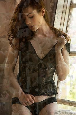 STOYA photo mosaic cm. 30x41 poster with a lot of hot sexy pics *star
