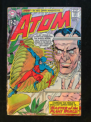 The Atom #1 Comic Book Silver Age DC Comics 2.0 GOOD G Superhero