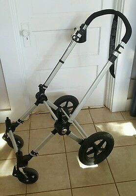 Bugaboo 2011 Cameleon stroller Base Chassis Frame with Foam filled Tires 71200