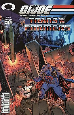 GI Joe vs Transformers #6 (NM)`03 Blaylock/ Miller  (Cover A)