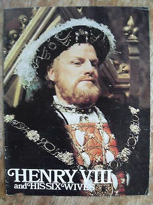 Vintage 1972 Henry Viii And His Six Wives Film Brochure