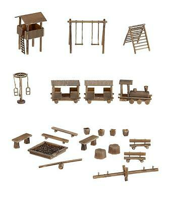 FALLER 272568 Adventure Playground 'N' Gauge Plastic Model Rail Kit