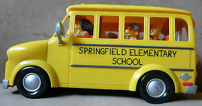 WOS Simpsons  Talking Elementary School Bus Free Shipping
