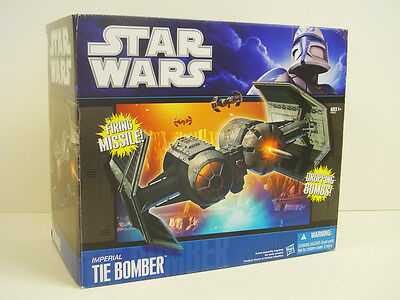 Star Wars 2010 Wal-Mart Exclusive Imperial TIE Bomber, HTF, MIB!