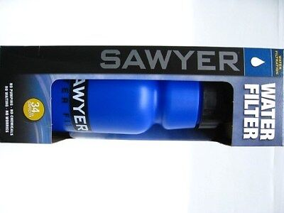 SAWYER Hiking Camping Portable 34 Ounce Personal WATER FILTER Bottle! SP141