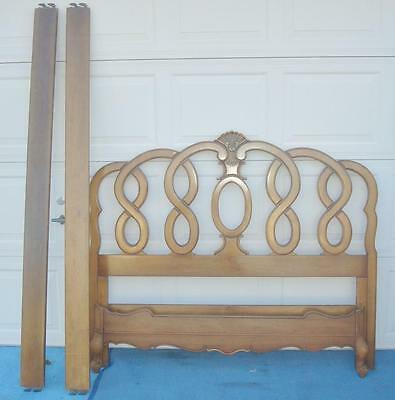 French Provincial Full Size Headboard And Foot Board