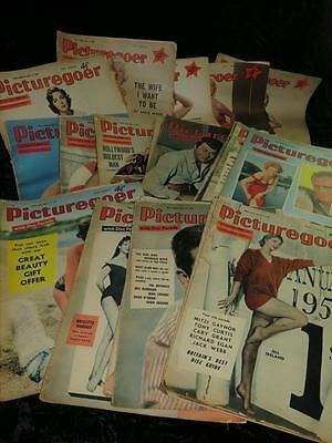 VINTAGE 'PICTUREGOER' WEEKLY MAGAZINE 1955/56/57/58/59 Choose From Selection