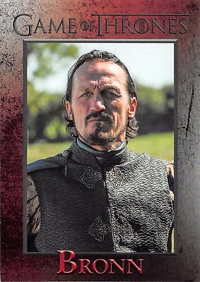 BRONN (Jerome Flynn) / Game of Thrones Season 5 (2016) Base Trading Card #37