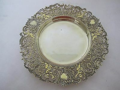 Gorgeous 19Th Cent Howard And Co. Sterling Very Heavy Plate Wi/chereb Musicians