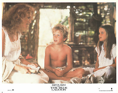 Return to the Blue Lagoon 1991 11x14 Lobby Card #4